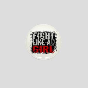 Fight Like a Girl 31.8 Diabetes Mini Button