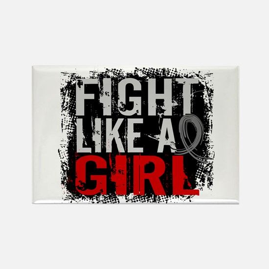 Fight Like a Girl 31.8 Diabetes Rectangle Magnet