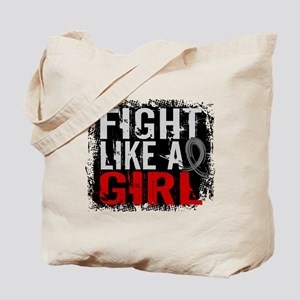 Fight Like a Girl 31.8 Diabetes Tote Bag