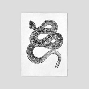 Rattlesnake 5'x7'Area Rug