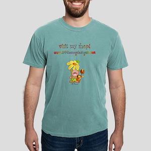 visitmyshopadult Mens Comfort Colors Shirt