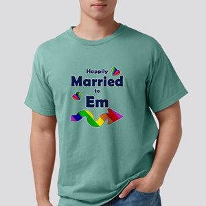 Married to Em Right Arro Mens Comfort Colors Shirt