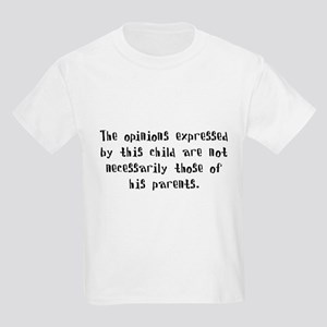 This child's opinions (Boy) Kids T-Shirt