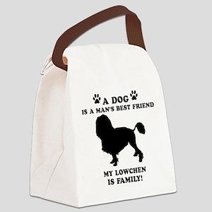Lowchen Dog Breed Designs Canvas Lunch Bag