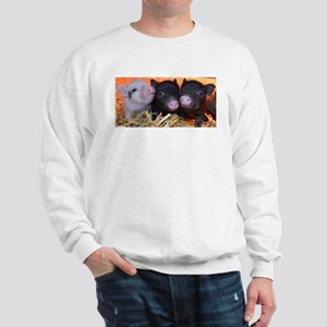3 little micro pigs Sweatshirt