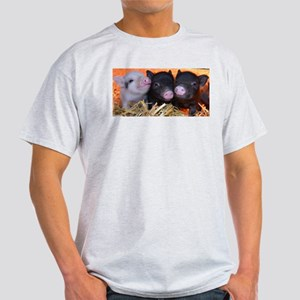 3 little micro pigs Light T-Shirt