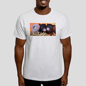 3 little micro pigs Light T-Shirt