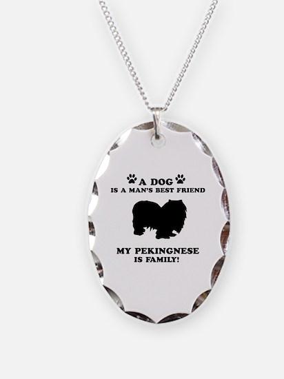 Pekingnese Dog Breed Designs Necklace