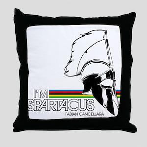I'm Spartacus - Fabian Cancellara Throw Pillow