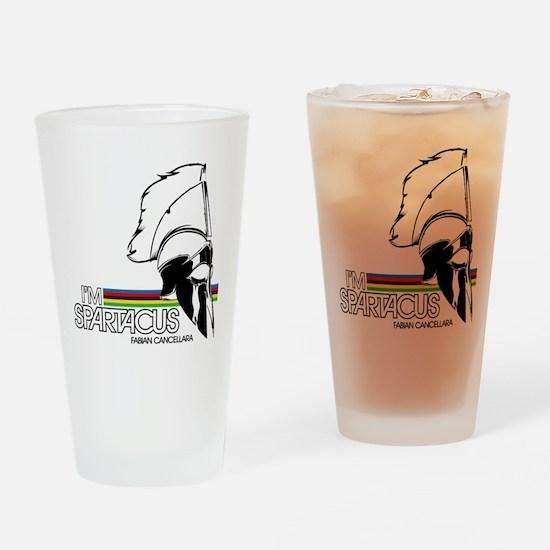 I'm Spartacus - Fabian Cancellara Drinking Glass