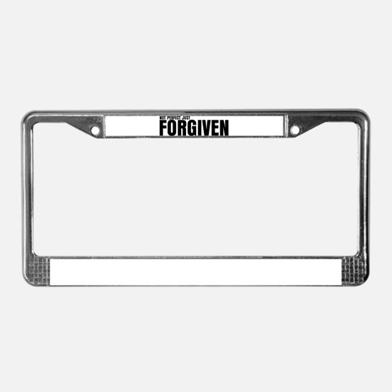 Funny Bible quotes License Plate Frame