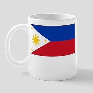 Philippines Flag Picture Mug