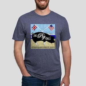 The Pig War Mens Tri-blend T-Shirt