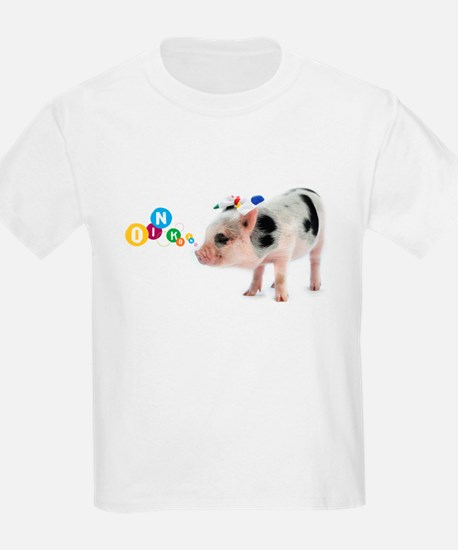 Little spotty micro pig girl with bow...Oink Oink