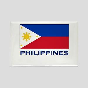 Philippines Flag Stuff Rectangle Magnet