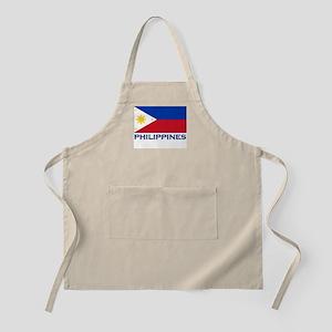 Philippines Flag Stuff BBQ Apron