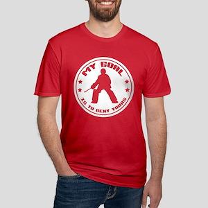 My Goal (Field Hockey) Men's Fitted T-Shirt (dark)