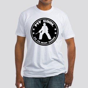 My Goal (Field Hockey) Fitted T-Shirt