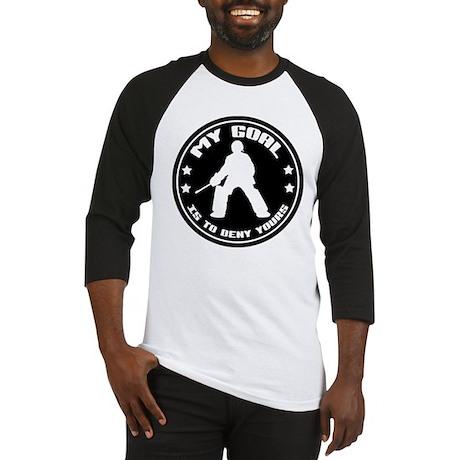 My Goal (Field Hockey) Baseball Jersey