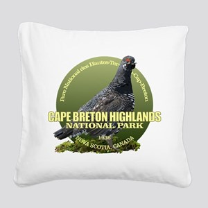 Cape Breton Highlands Square Canvas Pillow