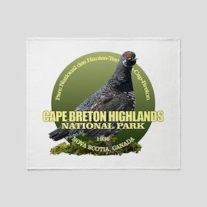 Cape Breton Highlands Throw Blanket