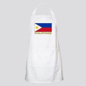 Philippines Flag Gear BBQ Apron