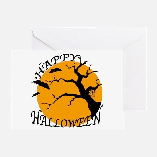 Happy Halloween 3 Greeting Card