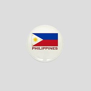 Philippines Flag Merchandise Mini Button