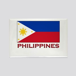 Philippines Flag Merchandise Rectangle Magnet
