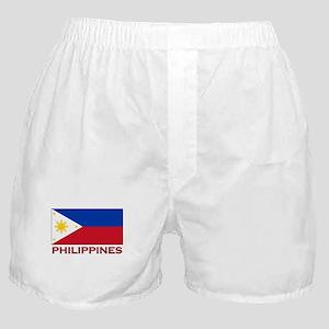 Philippines Flag Merchandise Boxer Shorts