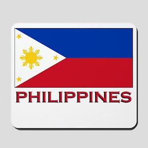 Philippines Flag Merchandise Mousepad