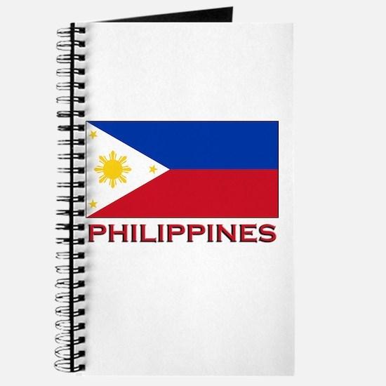 Philippines Flag Merchandise Journal