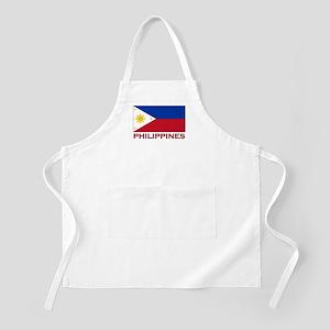 Philippines Flag Merchandise BBQ Apron