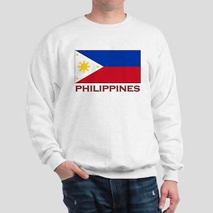 Philippines Flag Merchandise Sweatshirt