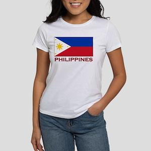 Philippines Flag Merchandise Women's T-Shirt
