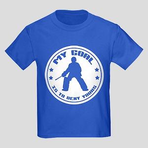My Goal, Field Hockey Goalie Kids Dark T-Shirt