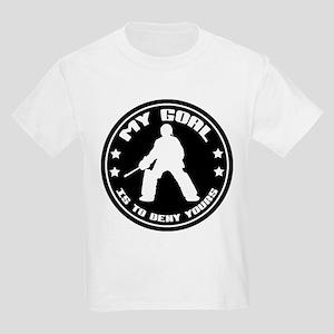 My Goal, Field Hockey Goalie Kids Light T-Shirt