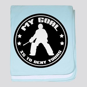 My Goal, Field Hockey Goalie baby blanket