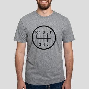 gearshift_trans Mens Tri-blend T-Shirt