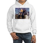 Doctor on Horseback Hooded Sweatshirt