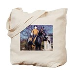 Doctor on Horseback Tote Bag