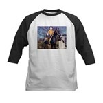 Doctor on Horseback Kids Baseball Jersey