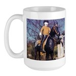 Doctor on Horseback Large Mug