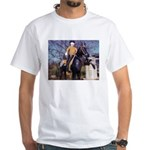 Doctor on Horseback White T-Shirt