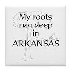 Arkansas Roots Tile Coaster
