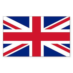 5fcdc53ef78 Union Jack Sticker (Rectangle)