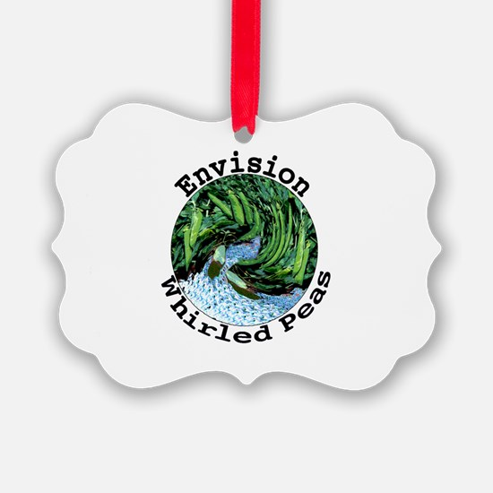 Envision Whirled Peas Ornament