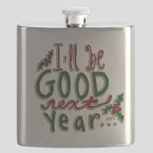 Ill Be Good Next Year Flask
