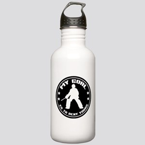 My Goal, Field Hockey Goalie Stainless Water Bottl