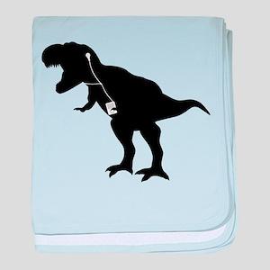 Cool dancing mp3 T-REX dinosaur design baby blanke